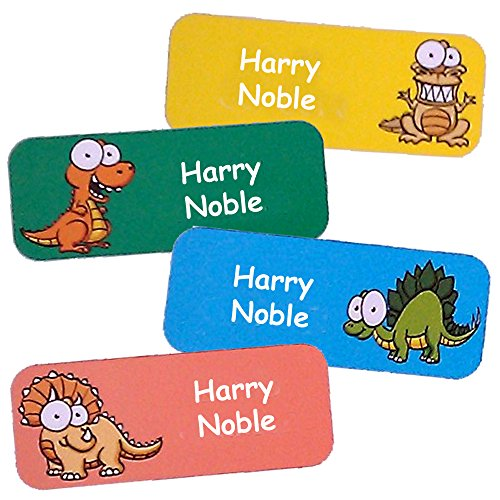 Etiquetas adhesivas personalizables impermeables, con muchos colores, para los objetos de los niños