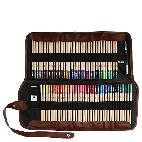 Lápices de Colores, Lypumso Lápices de Colores Vivos para Dibujar 72 Piezas Set, para Artistas Profesionales y Principiantes (72pcs)
