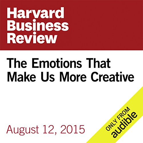 The Emotions That Make Us More Creative audiobook cover art