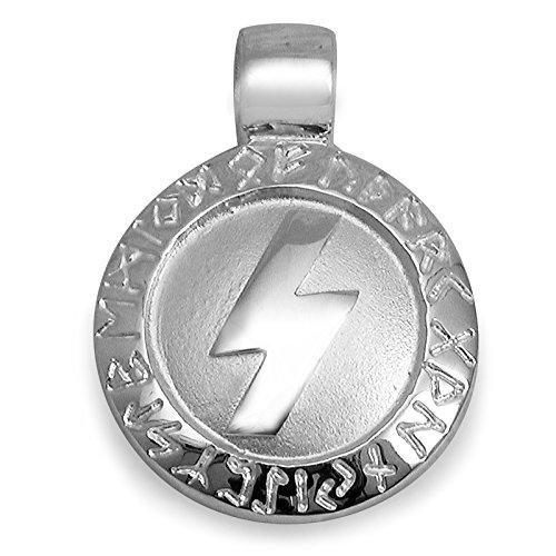 PAA Anhänger Runen Amulett Sowilo 925 Sterlingsilber