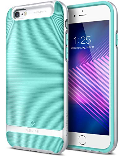 caseology iphone 6 plus Caseology Wavelength for Apple iPhone 6S Plus Case (2015) / for iPhone 6 Plus Case (2014) - Mint Green (D)