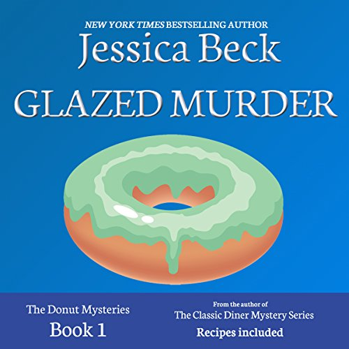 Glazed Murder: A Donut Shop Mystery audiobook cover art