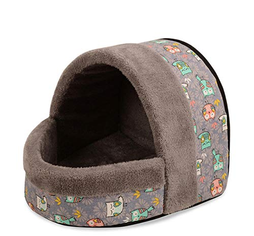 Pet Nest Kennelwashable Kat En Hond Huis Bed Leuke Winter Warme Hond Kat Slaapzak Zachte Wol Kennel Mat Puppy Mat Mand Voor Kleine Honden