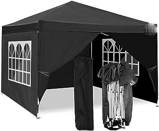 Utomhus 4 sidor skydd paviljong tält picknick höger vinkel hopfällbart skjul fönster uteplats utomhus baldakin kommersiell...