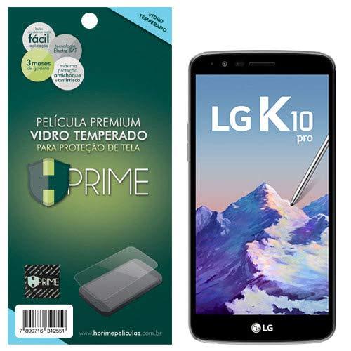 Pelicula de Vidro temperado 9h HPrime para LG K10 Pro, Hprime, Película Protetora de Tela para Celular, Transparente