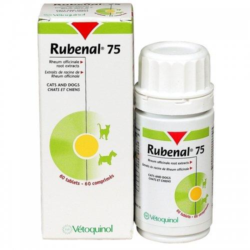 """Rubenal 75 """"NF"""" Nahrungsergänzung für Haustiere, 60Kapseln"""