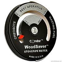 Condar WoodSaver ストーブパイプ温度計 モデル3-16