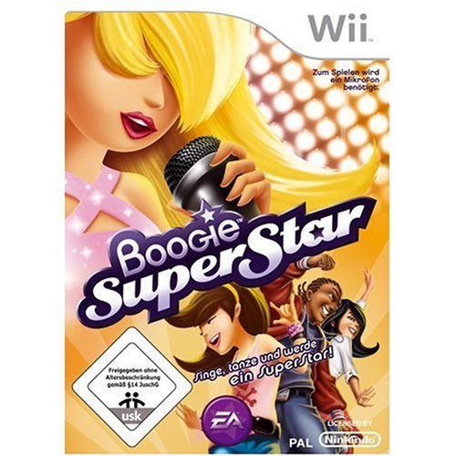 Electronic Arts Boogie Superstar, Wii - Juego (Wii)