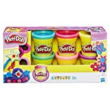 Play-Doh- Plastilina, Colección brillante, Multicolor (A5417)