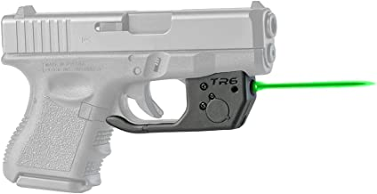 ArmaLaser Designed for Compatible with Glock 26 27 33 TR6G Green Laser Sight with Grip Activation