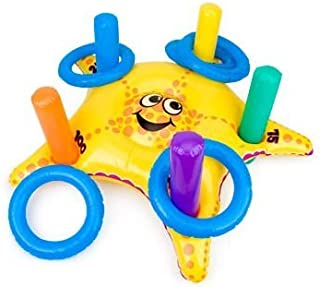 Inflatable Starfish Ring Toss Game (each) - Party Supplies