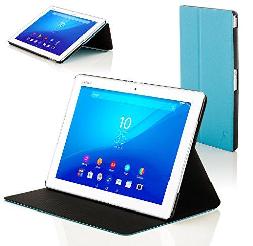 Forefront Hülles Hülle für Sony Xperia Z4 Tablet 10.1 SGP771 Schutzülle Hülle Cover und Ständer - Dünn Leicht, R&um-Geräteschutz und Auto Schlaf Wach Funktion - Blau