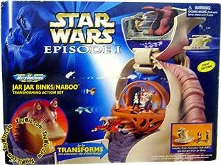 Star Wars Episode I Micromachines Jar Jar Binks/Naboo Transforming Action Set