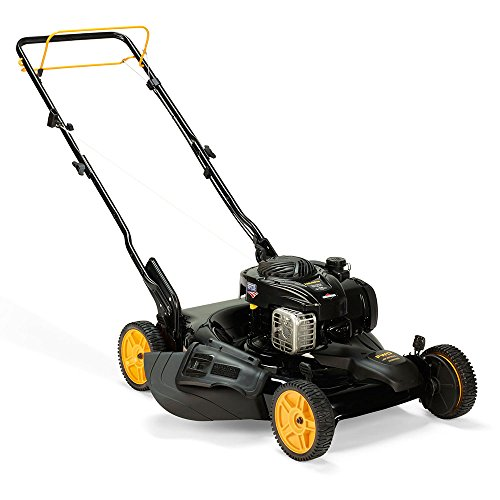 Poulan Pro PR500Y22, 22 in. 140cc 500 E Series Briggs & Stratton 3-in-1 Walk Behind Push Mower