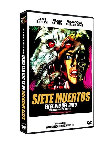 Siete Muertos en el Ojo del Gato DVD 1973 La morte negli occhi del gatto (Seven Dead in the Cat's Eye)