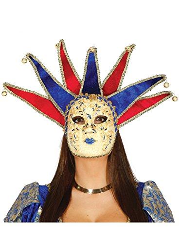 Guirca edel verzierte venezianische Maske Damen Karneval Fasching Barock Maskenball sexy