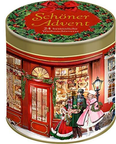 Sprüchedose - Schöner Advent: 24 besinnliche Weihnachtsverse
