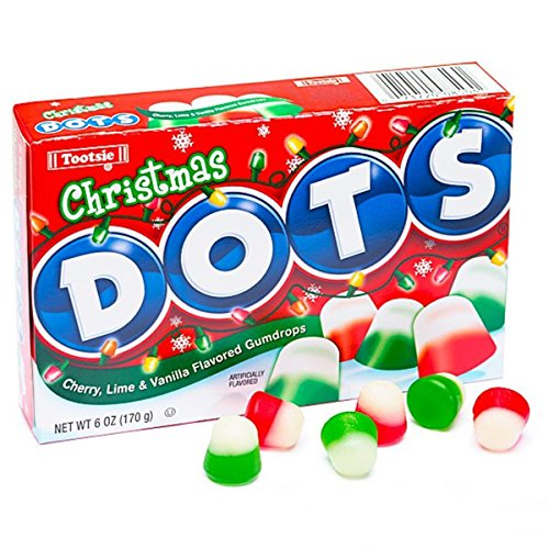 Christmas Dots Gumdrop Candy Theater Box, 6 oz (Pack of 3)