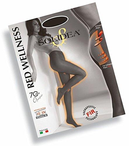 Solidea Red Wellness 140 Opaque Colore Nero Taglia 2-M