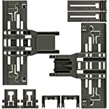 Upgraded New Polymer Material W10546503 Upper Rack Adjuster, W10195840...