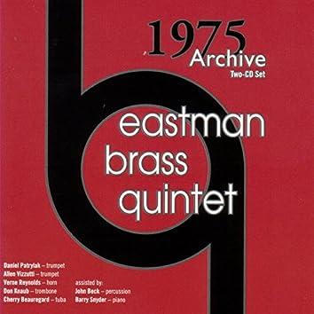 Eastman Brass Quintet 1975 Archive