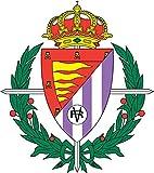 Real Valladolid FC Spain Soccer Football Alta Calidad De Coche De Parachoques Etiqueta Engomada 12 x 12 cm