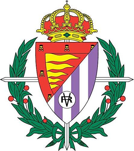 Real Valladolid FC Spain Soccer Football Alta Calidad De Coche De Parachoques Etiqueta Engomada 12 x...