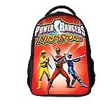 Junior Sac à Dos pour Les Enfants école Power Rangers 3D Sac Cartoon Anime Rucksack...