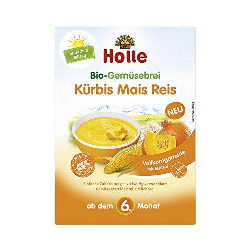 Holle baby food Bio-Gemüsebrei Kürbis Mais Reis - Bio - 175g