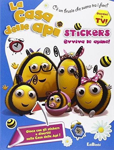Evviva le apine! La casa delle api. Stickers