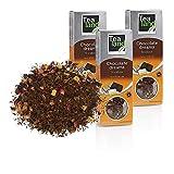 Tealand | Te rooibos Chocolate Dreams, Hojas Sueltas | Pack de rooibos granel | 3 x 100 gr
