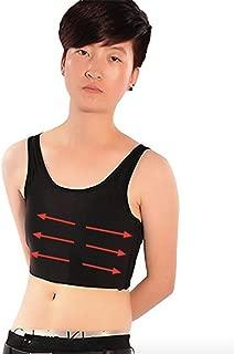 Neal LINK Lesbian Breathable Flat Chest Elastic Band Tube Elastic Band Binder Tank Tops