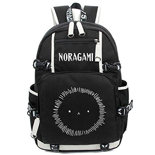 Siawasey Anime Noragami Cosplay Luminous Bookbag Daypack Laptop Rucksack Schultertasche Schultasche