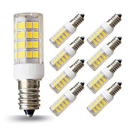 Lampaous e14 led Lampe Neutralweiss Birne 5 Watt led e14 Tagslicht SES Leuchtmittel ersetzt für 50 Watt Halogenlampen 360 Grad Abstrahlwinkel 220-230V AC 8er Pack