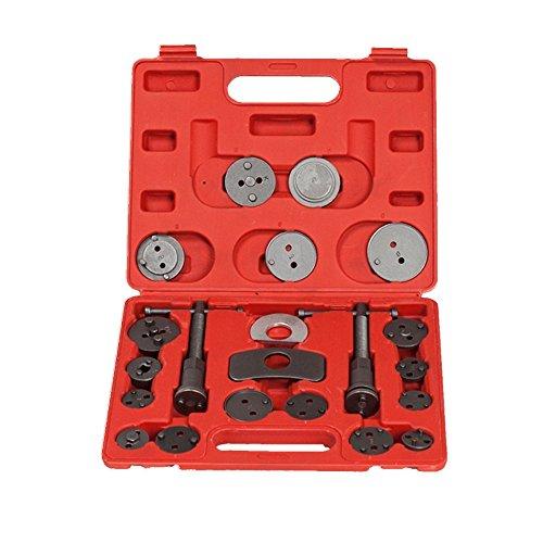 LARS360 22 tlg Universal Bremskolbenrücksteller Kolbenrücksteller Bremsensatz Instandsetzung Werkzeug Set Kolben Wind Zurück Tool Kit für alle Autos