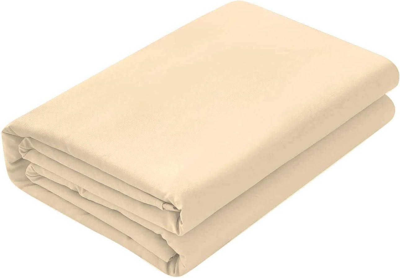 Sara Bedding Luxury Flat Sheet 800 Thread Count 100/% Egyptian Cotton Quality 1-Piece Flat Sheet Twin XL Size Solid Aqua Blue