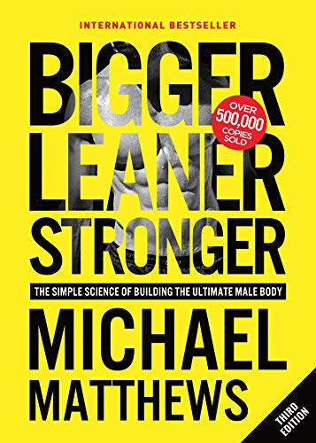 Bigger leaner strong book image