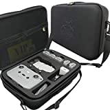 Carrying Case for DJI Mini 2 - Splash-Proof | Durable | Compact | Semi Hard EVA Material - Carry Your Drone with Maximum Protection.