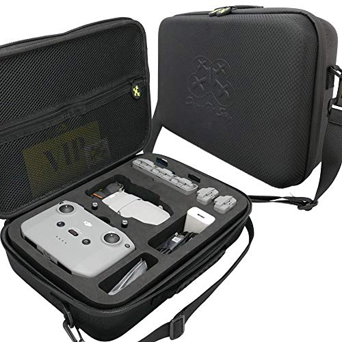 Carrying Case for DJI Mini 2 - Splash-Proof   Durable   Compact   Semi Hard EVA Material - Carry Your Drone with Maximum Protection.