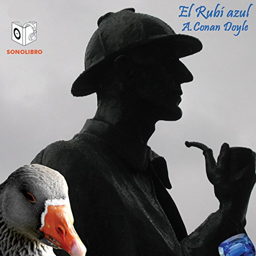 El Rubi Azul [The Blue Carbuncle] audiobook cover art
