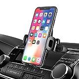 Bovon Support Téléphone Voiture, 360° Rotation Fente CD Porte Téléphone Voiture avec Un-Bouton Déverrouillage, Support Voiture à CD Slot pour iPhone 11 Pro Max/11/XS Max/XR/X/8, Galaxy S10/S9/S8 etc