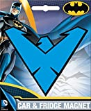 Ata-Boy DC Comics Die-Cut Nightwing Logo Magnet for Cars, Refrigerators and Lockers