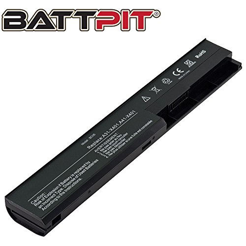 Battpit Laptop Akku für Asus A32-X401 A42-X401 X301A X401A X401U X501A X501U F301A - [6 Zellen/4400mAh/48Wh]