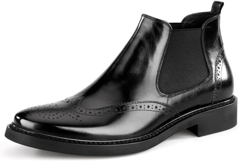 LYZGF Männer Jugend Mode Casual Casual Casual Leder Retro Stiefel Bullock B07FM8T86C  867c32