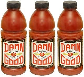Damn Good Bloody Mary Mix, 1 Liter (33.8 fl oz) bottles, Pack of 3