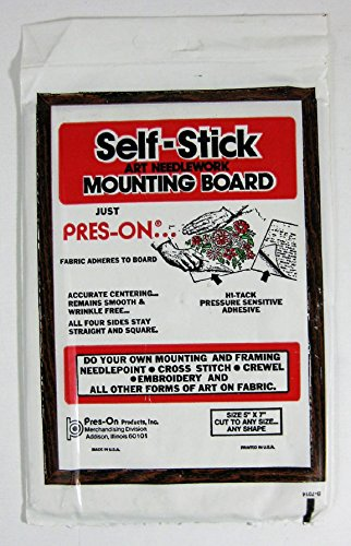 PRES ON B05S Mounting Board, 5 by 7-Inch
