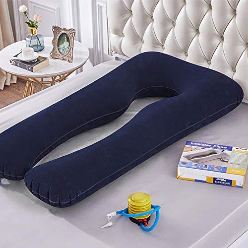 Almohada de apoyo para dormir en forma de U, almohada de maternidad para embarazadas, mujeres embarazadas, durmientes laterales de cuerpo entero, almohadas de cama (color: 04)