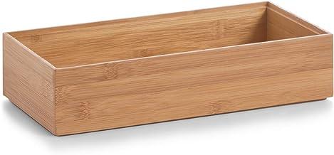 Zeller 13333 pudełko do przechowywania 30 x 15 x 7 cm, Bamboo