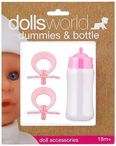 Dolls World 8511 Sucettes et biberon