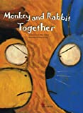 book, Monkey and Rabbit Together, Mike Lockett, children's book, picture book, dual language